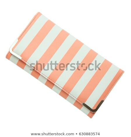Woman red purse (wallet) isolated on white Stock photo © tetkoren