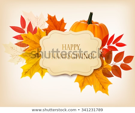 Autumn Leafs and Yield Stock photo © zhekos