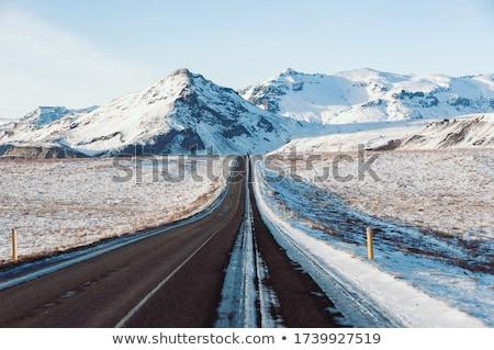 snelweg · curve · wildernis · weg · berg · landschap - stockfoto © vichie81