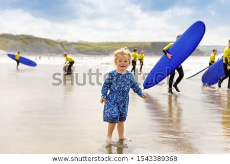 summer time on ballybunion beach Stock photo © morrbyte