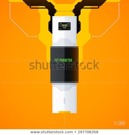 sensible · diseno · web · portátil · escritorio - foto stock © netkov1