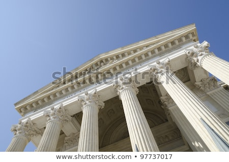Old courthouse with blue sky Stock photo © njnightsky