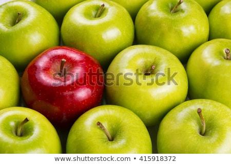 Stock fotó: Különböző · fogalmak · almák · piros · alma · zöld · alma