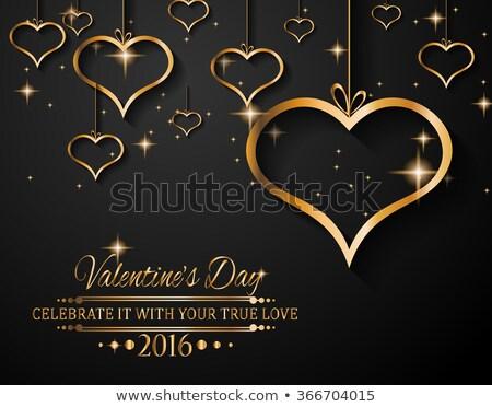 Foto d'archivio: San · valentino · amore · inviti · volantini · Coppia