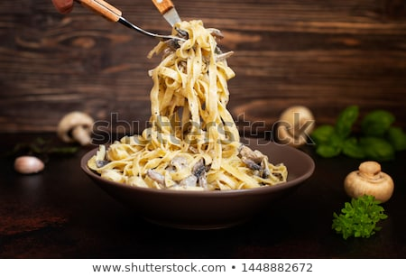 Fettuccine Stock photo © zenstudio