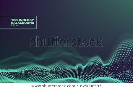 фрактальный веб аннотация искусства дизайна свет Сток-фото © zven0
