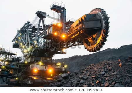 bucket-wheel excavators  Stock photo © mady70
