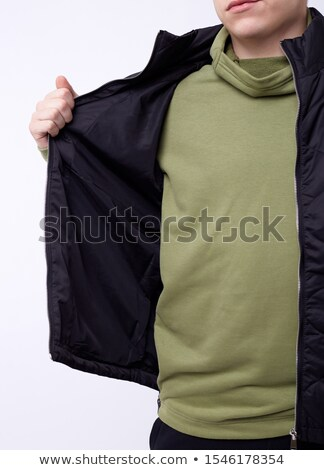 Green body warmer Stock photo © bluering