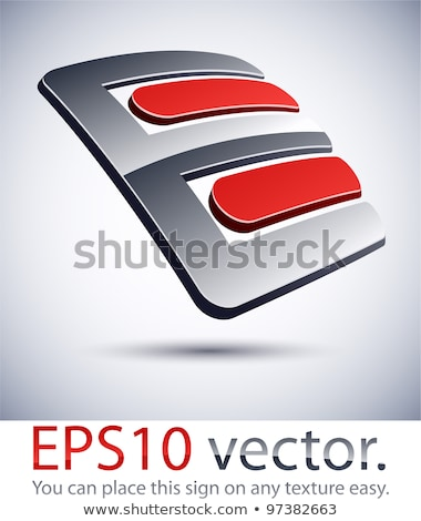 Success 3D lettering in perspective Stock photo © gravityimaging