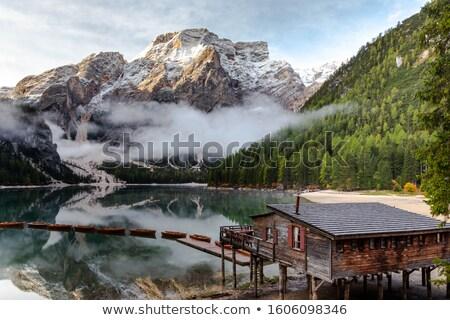 Lago di Dobiacco Stock photo © val_th