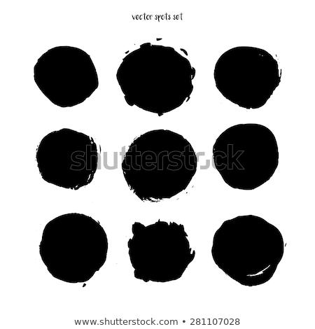 黒 インク パッチ 抽象的な 水 塗料 ストックフォト © SArts