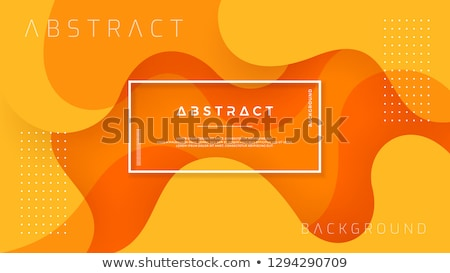 abstract orange colorful vector background stock photo © fresh_5265954