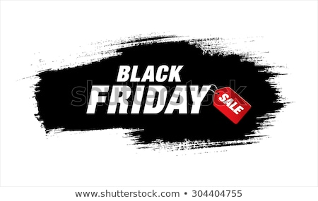 Grunge black friday venda bandeira cartaz modelo Foto stock © SArts