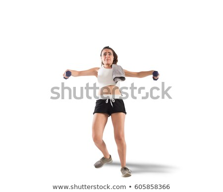 Clunky workout Stock photo © alphaspirit