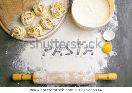 Broad ribbon pasta Stock photo © Digifoodstock