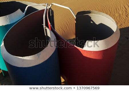 Gekleurd houten zand strand telefoon Stockfoto © wavebreak_media