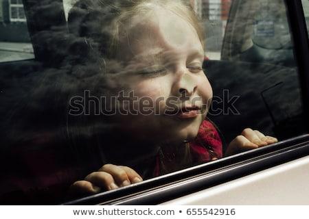女の子 眼 鼻 白 クローズアップ 通信 ストックフォト © wavebreak_media