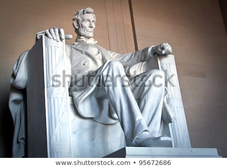 Stock photo: Lincoln Memorial Statue Washington DC USA