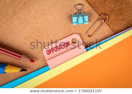 news concept on folder register stock photo © tashatuvango