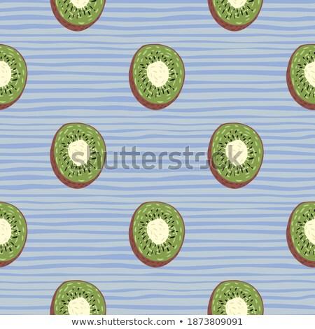 Kiwi nieskończony tekstury owoce tle Zdjęcia stock © lucia_fox