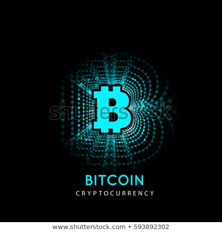 Bitcoin elektronische vorm geld innovatieve betaling Stockfoto © m_pavlov