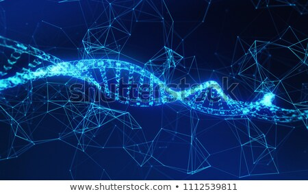 Blockchain Data Strand stock photo © albund