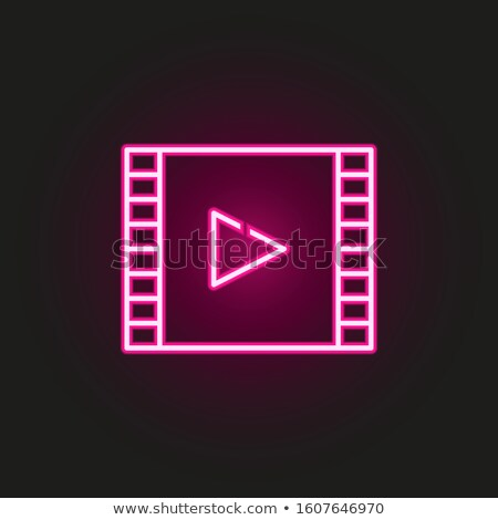 кино · иконки · Film · Reel · директор · Председатель · дизайна - Сток-фото © olena