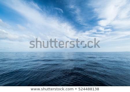 öffnen Ozean bewölkt Himmel Sommer tropischen Stock foto © ixstudio