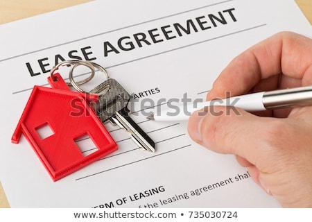 hypothèque · accord · ampoule - photo stock © devon