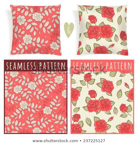 seamless background pillows stock photo © olena