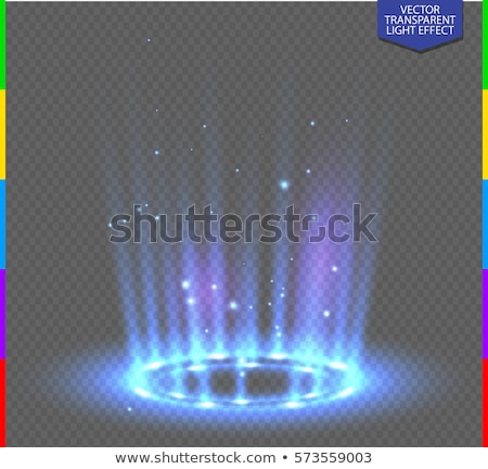 Abstract blue  light source Stock photo © mikdam