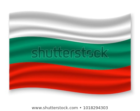 Bulgária integet zászló vektor kép absztrakt Stock fotó © Amplion