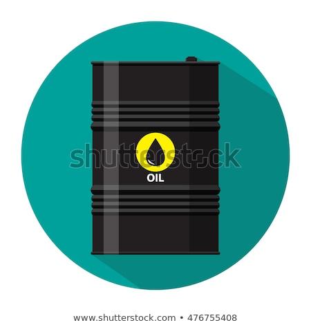 différent · noir · silhouette · gaz · blanche - photo stock © studioworkstock