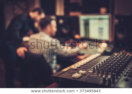 Studio sound recording panel Stock photo © tracer