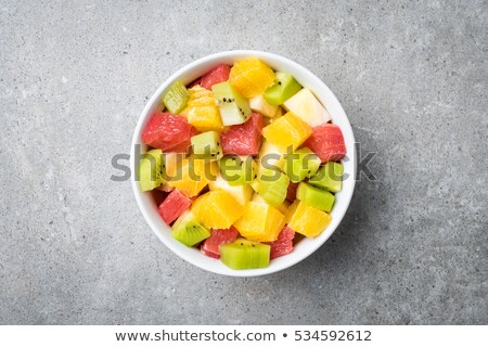 Vruchtensalade salade voedsel Stockfoto © mpessaris