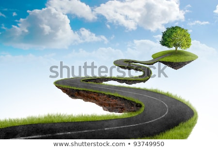 Suspended roads Stock photo © IS2