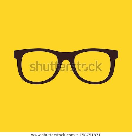 眼鏡 眼鏡 ベクトル アイコン デザイン 色 ストックフォト © rizwanali3d