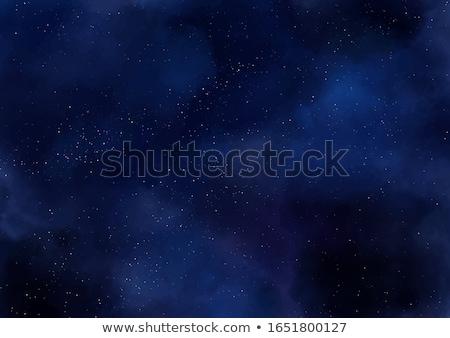 arte · dramático · escuro · nuvens · céu · primavera - foto stock © kostins