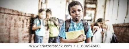 Alunos escolas menina criança educação sala de aula Foto stock © wavebreak_media
