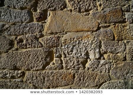 granitu · kamień · Bush · kamieniarstwo · ściany - zdjęcia stock © lunamarina
