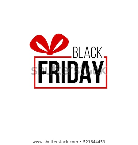 Black Friday Sale Abstract Bubble Badge Template Stock photo © molaruso