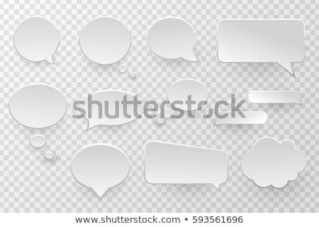 Dymka kolekcja przezroczysty gradient streszczenie Zdjęcia stock © cammep