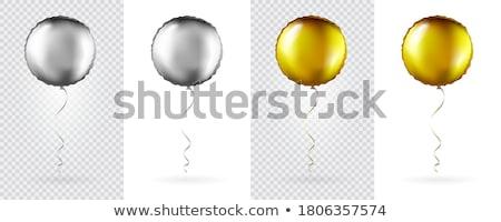 izolált · arany · papír · karácsony · csillag · átlátszó - stock fotó © adamson