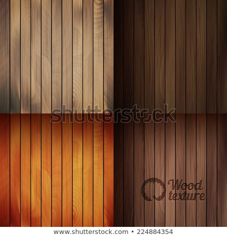 Four colors of wood for fence Stock photo © colematt