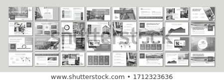 web page template of business apps travel planning modern vector illustration concept for website stock photo © ikopylov
