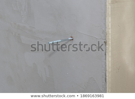reinforcement wall corner with metal mesh Stock photo © romvo