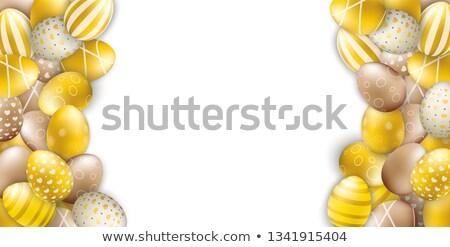 благородный пасхальных яиц куча белый Сток-фото © limbi007
