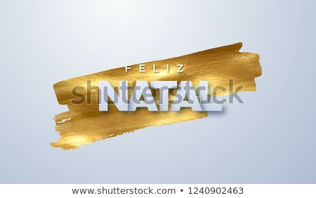 Natal Vector. Feliz natal. Merry Christmas. Holiday Decoration Illustration Stock photo © pikepicture