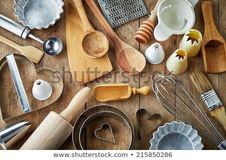 Set of various kitchen utensils Stock photo © karandaev