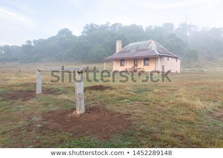 Rail edad montanas Australia paso Foto stock © lovleah